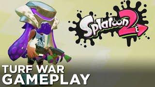 SPLATOON 2 Turf War: Splat Dualies Gameplay!