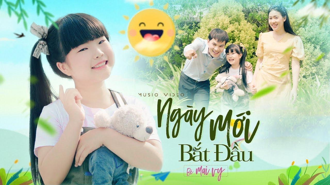 Ngày Mới Thật Vui ♪ Bé MAI VY Thần Đồng Âm Nhạc Việt Nam [MV Official]