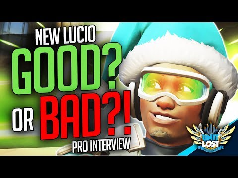 Overwatch - NEW Lucio GOOD or BAD?! Pro Lucio Interview! [Pro Chat]