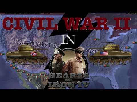 AMERICAN CIVIL WAR II in HEARTS OF IRON |