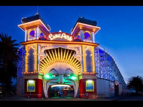 Luna park melbourne australia amusement park big slide for Puerta 7 luna park