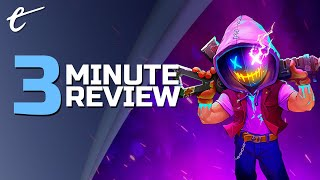 Neon Abyss | Review in 3 Minutes (Video Game Video Review)