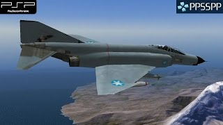 Ace Combat X: Skies of Deception - PSP Gameplay 1080p (PPSSPP)