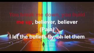 Imagine Dragons - Believer - Karaoke con testo