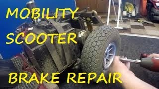 Mobility Scooter Electric Brake Fault finding & Repair Part 1