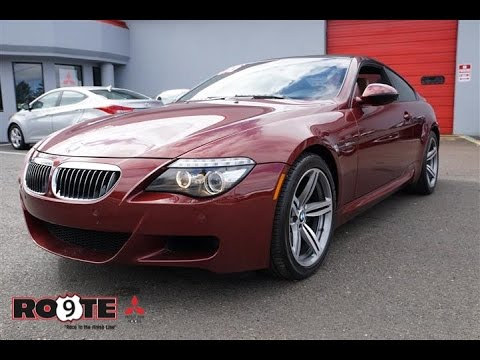 2010 bmw m6 v10 coupe youtube. Black Bedroom Furniture Sets. Home Design Ideas