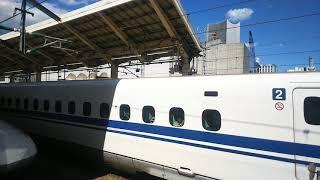 東海道・山陽新幹線 のぞみ43号 博多行き N700A系  2019.06.16