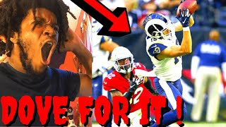 CARDINALS VS RAMS REACTION NFL WEEK 13 HIGHLIGHTS - HE DOVE FOR IT !