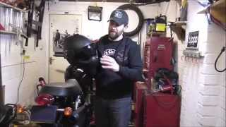 Delboy's Garage, 'roof Boxer' Helmet, Long Term Test.