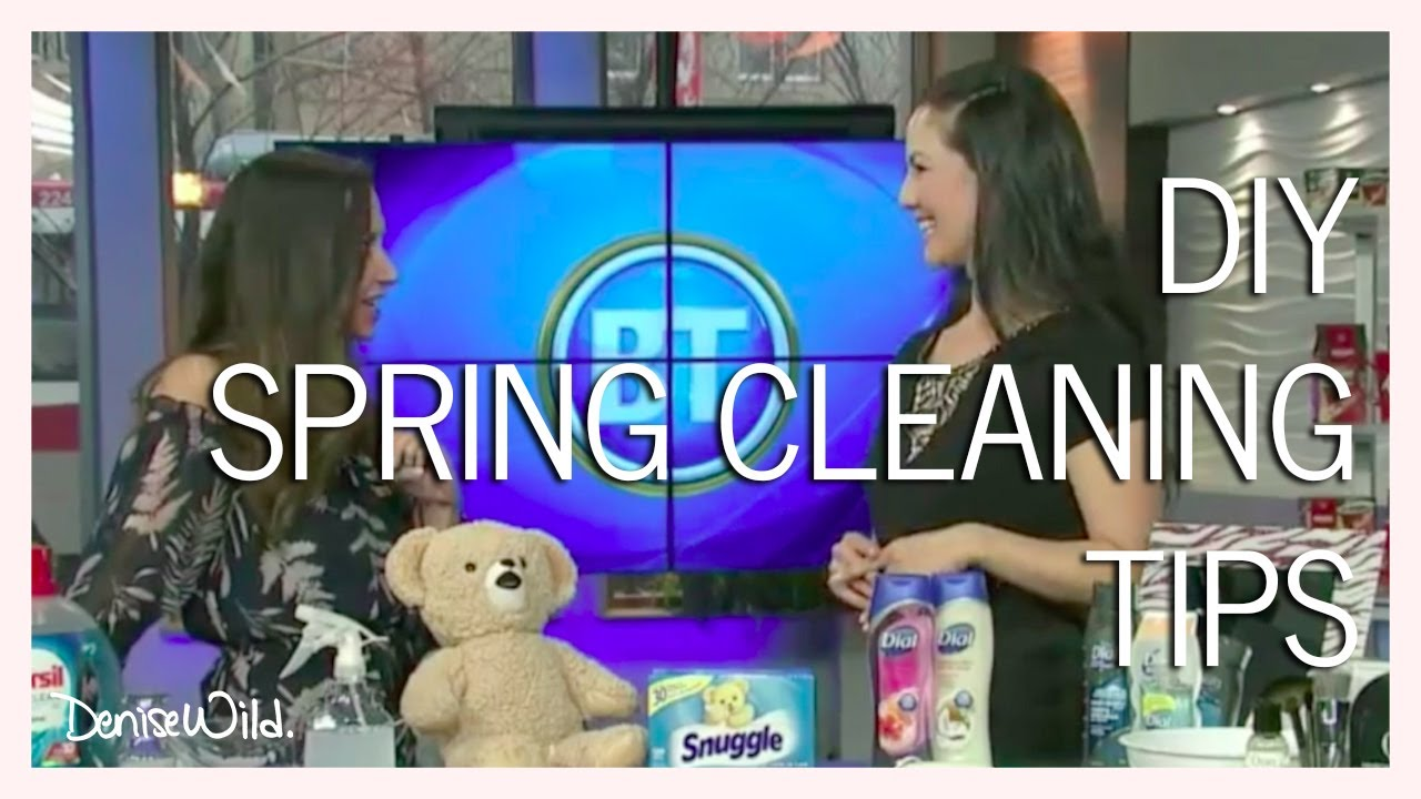 DIY Hard Water Stain Remover & Sink Cleaner & Other Spring Cleaning ...