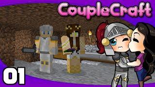 CoupleCraft - Ep. 1: Welsknight & Wifey Returns!   Minecraft Modded Survival