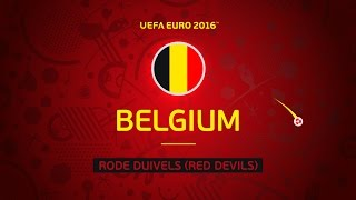Belgium at UEFA EURO 2016 in 30 seconds