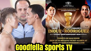 Full Fight Reaction: Naoya Inoue Stretches Emmanuel Rodríguez in 2 Rounds!!!
