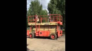 видео Коленчатый подъемник купить в Минске