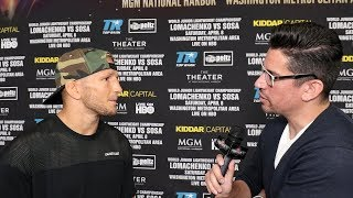 "TJ DILLASHAW ON SPARRING LOMACHENKO IN THE MATRIX ""HE KNEW WHAT I WAS GONNA THROW BEFORE I THREW IT"""