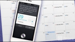 How to create, view, update, and cancel calendar events using Siri