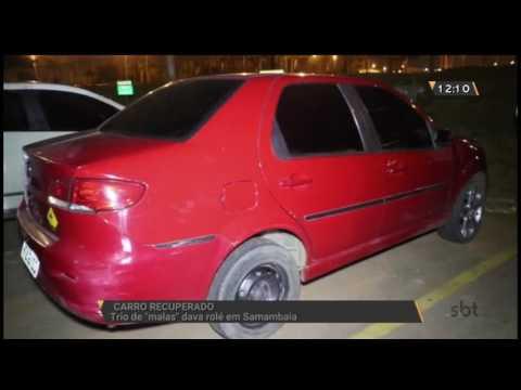 Carro recuperado: Trio foi preso em Samambaia