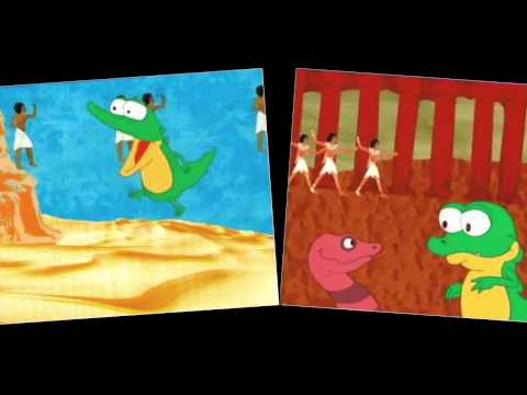Schnappi micutul crocodil ... (cantece copiii).avi