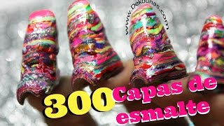 300 capas de esmalte #polishmountain - 300 coats of nail polish thumbnail