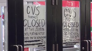 Target Pharmacy Destroyed By Woman With Metal Pole