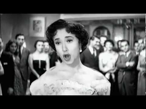"""Lolita Torres - Лолита Торрес - """"Caminito Soleado"""" - Un Novio para Laura (1955)"""
