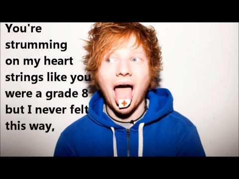 Grade 8 - Ed Sheeran lyric video