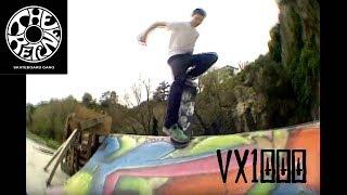 The VX1000 mini skate Show (skate Nantes DIY la carrière)