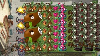 Plants vs Zombies 2 - Sap Fling, Blooming Heart, Coconut Cannon