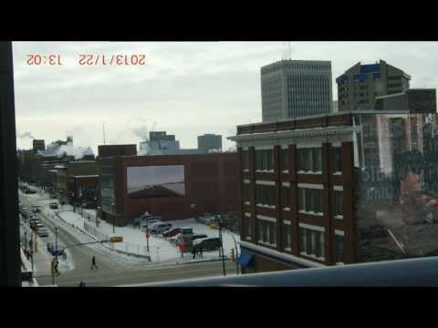 2013-01-22 Regina today 1_of_2 (The Lorne). .... . w/ Gene's 'Yangtze River'