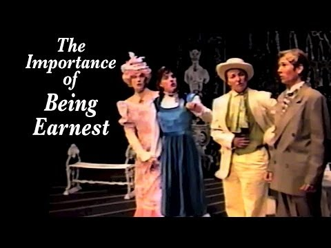 "Fabulous Monsters cross-gender ""The Importance of Being Earnest"" by Oscar Wilde"