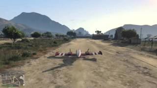 GTAV - PSA: Deploy landing gear before landing