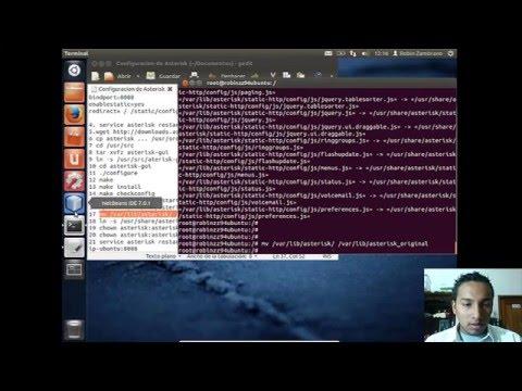 Instalacion de Asterisk en Ubuntu 12.04 LTS Full HD
