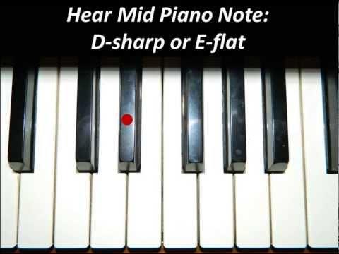 Hear Piano Note - Mid D Sharp or E Flat