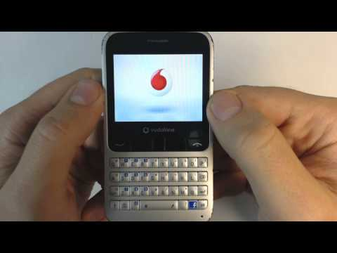 Vodafone 555 Alcatel OT 555 hard reset