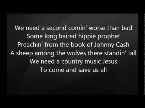 Eric Church - Country Music Jesus with Lyrics