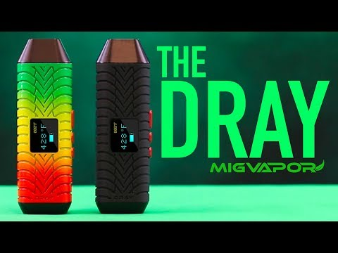 DRay portable Weed/ Herb Vaporizer Review | Tutorial by Mig Vapor