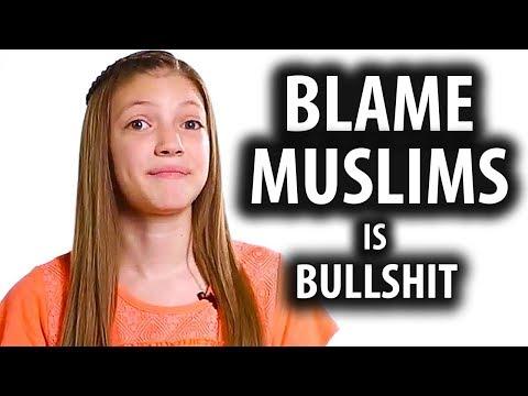 Blame Muslims Poem is Bullsh!t