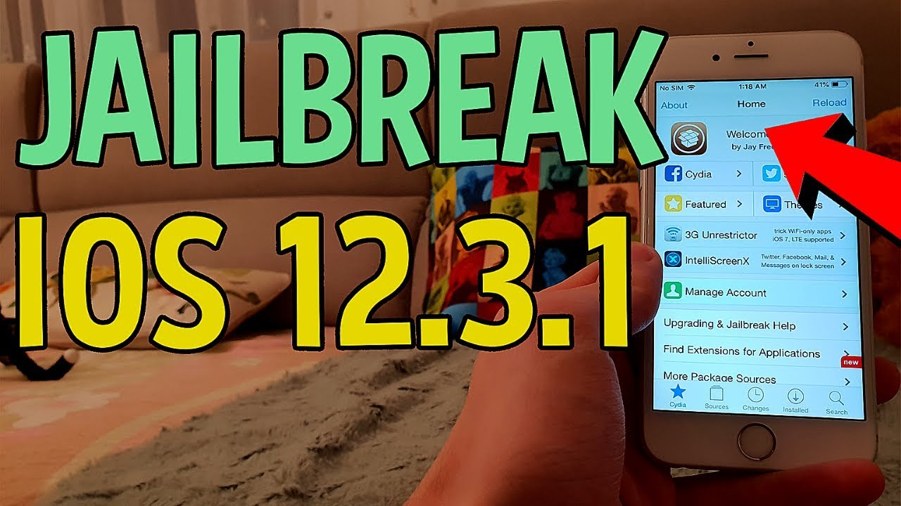 iOS 12.3.1 Jailbreak – Cydia 12.3.1 Installed – How To Jailbreak iOS 12.3.1 Untethered [No Computer]