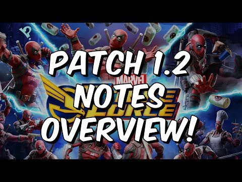 Patch 1.2 Notes Overview - Deadpool & Cable Arrive! - Marvel Strike Force
