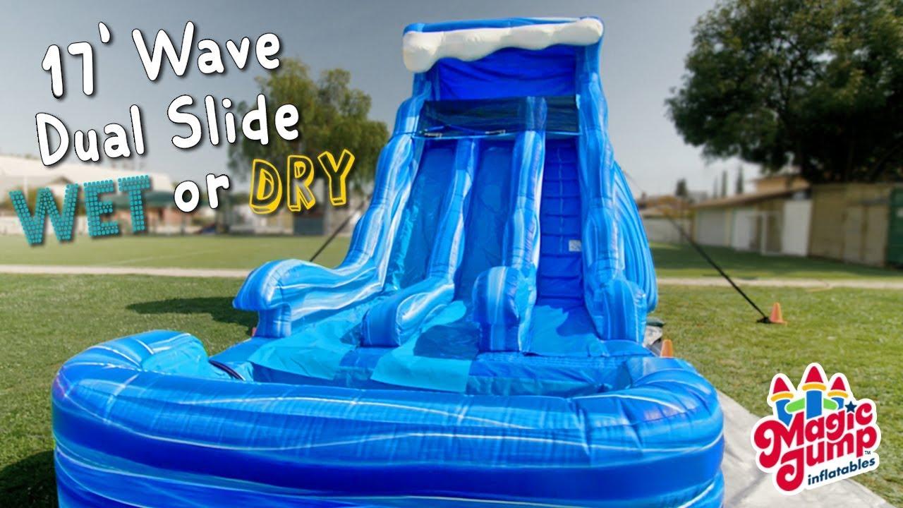 17 Wave Dual Slide Wet Or Dry Magic Jump Inc Youtube