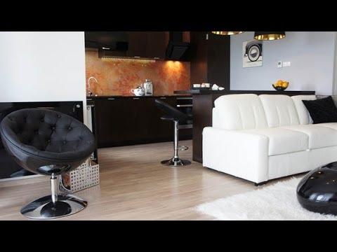 Dise o de apartamento peque o elegante con planos en 3d for Modelos de apartamentos modernos y pequenos