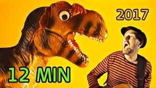 Barnsånger på svenska om dinosaurier 2017 | Pappa Kapsyls bästa | Barnvisor, Barnmusik, Video, Barn