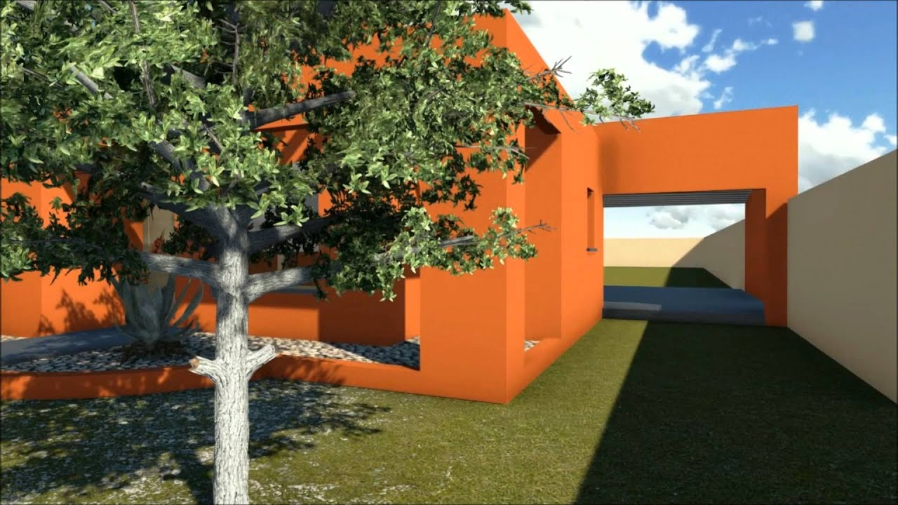 Fachada color youtube for Casas pintadas exterior