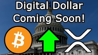 HUGE CRYPTO NEWS! US Stimulus Bill Includes Provision For Digital Dollar - Bitcoin Ethereum XRP