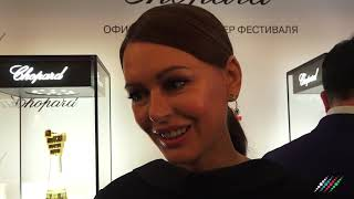 Актриса Ирина Безрукова о желании посетить Формулу 1 в Баку