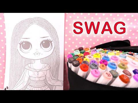 poupées-lol-omg-swag-coloring-coloriage-kit-activités
