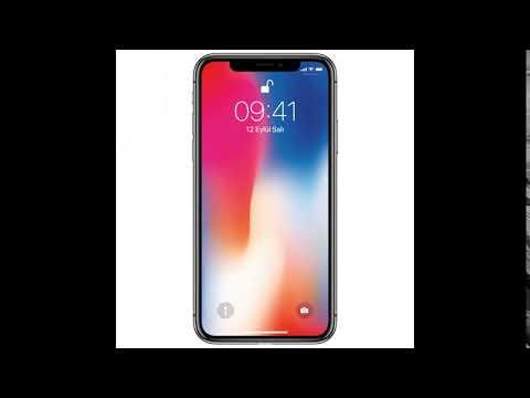 Iphone X  ZİL SESİ 2018
