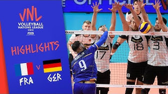 FRANCE vs. GERMANY - Highlights Men | Week 3 | Volleyball Nations League 2019