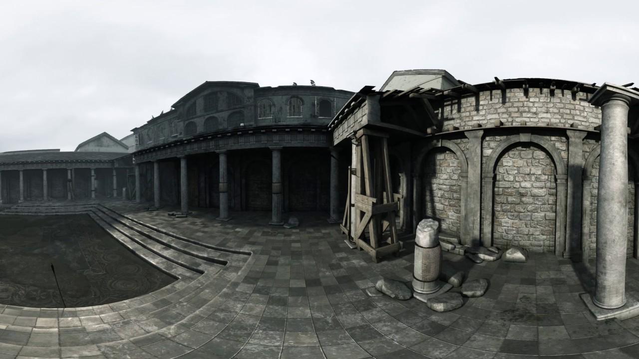 Меч короля Артура — побег из Лондиниума. Видео 360.