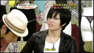 Watch more subbed Gackt videos at http://www.crazyontv.com.